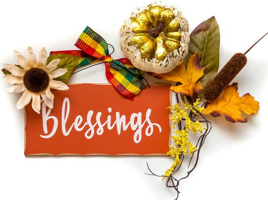 Thanksgiving Message From Vicar Silke Fahl