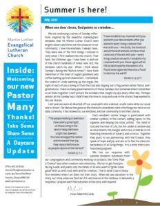 Newsletter for Summer 2021 full size
