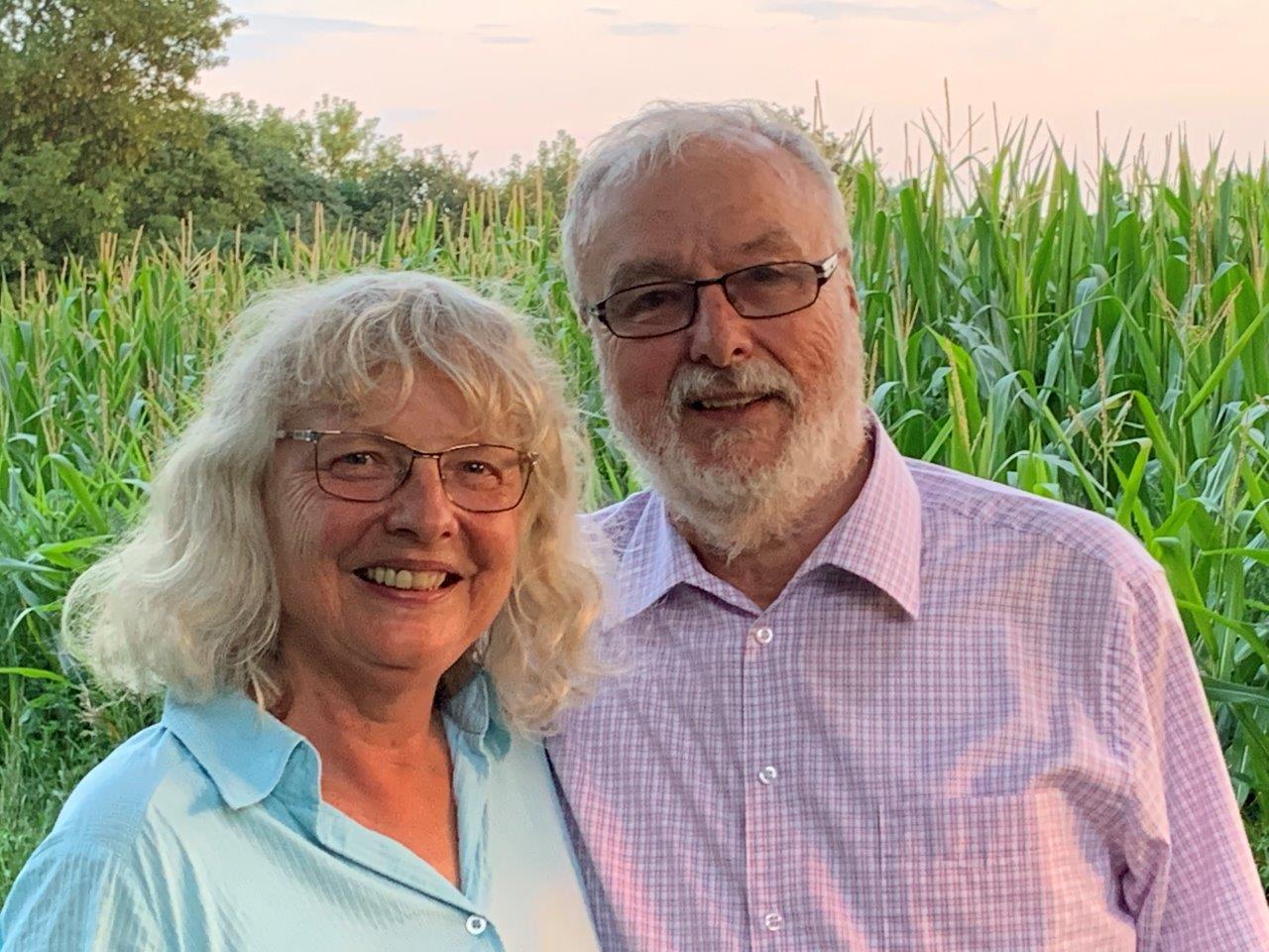 We Thank Pastor Gerhard And Margret Hille