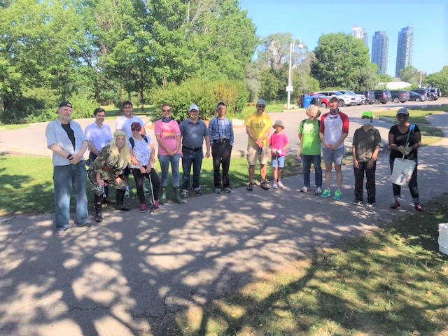 2021 Shoreline Tidy-up And Picnic -group