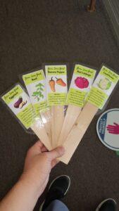 Community Garden Labels
