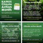 2021 KAIROS kick off flyer for Shoreline Tidy-Up blog
